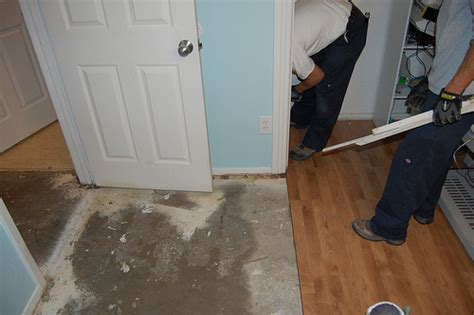 water under bathroom floor help with a water damaged subfloor networx