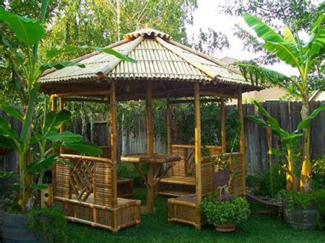 tiki backyard ideas tiki hut outdoor space decorating pinterest