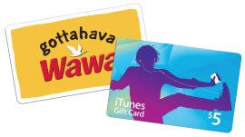 Wawa Gift Cards - gift card for a referral