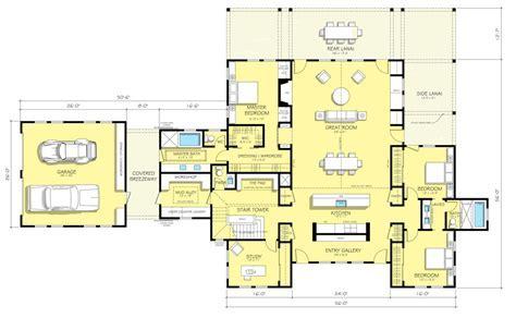 Farmhouse Style House Plan   3 Beds 2.50 Baths 3754 Sq/Ft