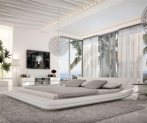 schlafzimmer ideen modern weiß schlafzimmer romantisch modern bett perfecta plus die