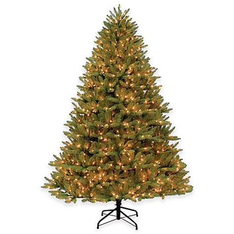 pre lit ozark spruce 9 foot pvc indoor christmas tree with