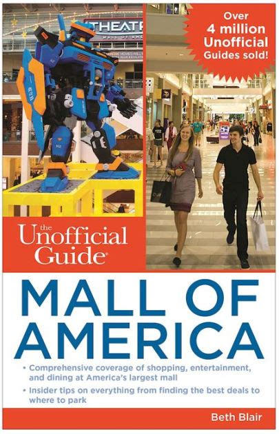 Mall Of America Mystery Gift Card - the unofficial guide to mall of america by beth blair nook book ebook barnes