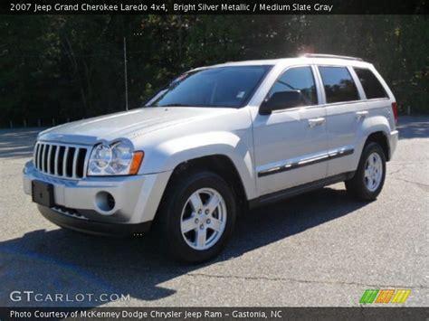 silver jeep grand 2007 bright silver metallic 2007 jeep grand laredo