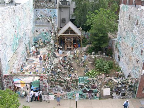 Gardens In Philly by History Philadelphia S Magic Gardens