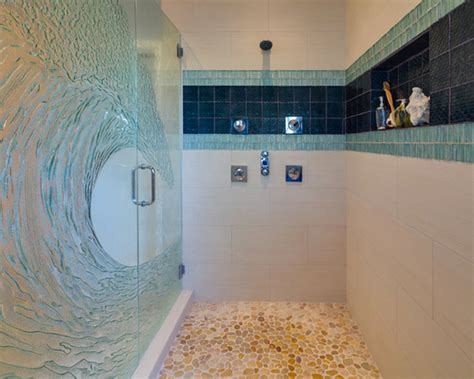 clear glass shower doors patterned glass shower door alternative to clear glass