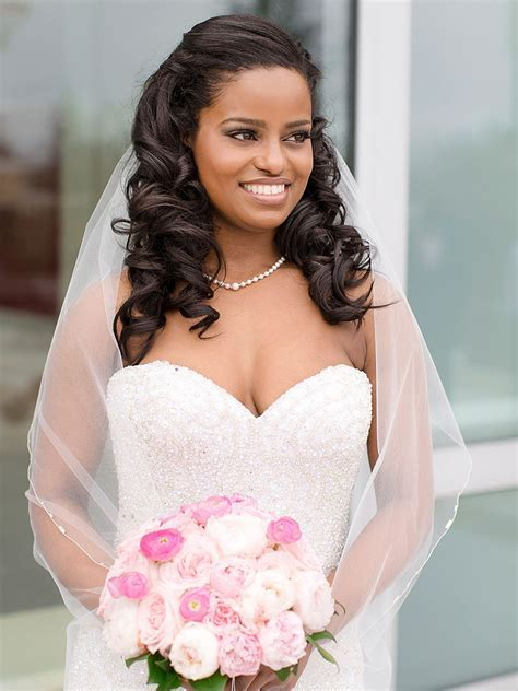 Wedding Hairstyles for Black Women, african american