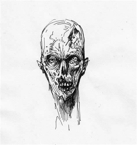 Drawing Zombies by Rapidograph Zombies Or Meth