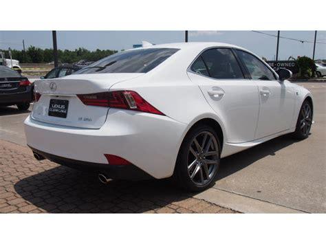 white lexus is 250 2014 lexus is 250 2014 white sedan gasoline 6 cylinders rear