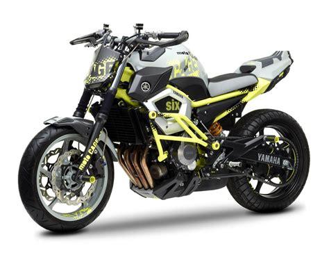 De Yamaha Motorrad by Moto Cage Six Como Yamaha Interpreta El Stunt