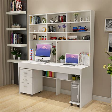 Desks For Small Bedrooms by Computer Desk With A Simple Modern Desktop Bookcase Desk