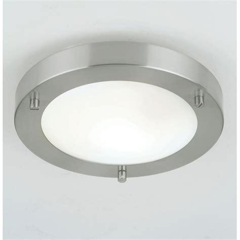 Bathroom Ceiling Lights Uk Endon Endon El 440 18bs 9w 1 Light Modern Low Energy Bathroom Flush Ceiling Light Brushed Steel