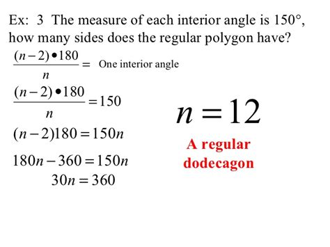 How Many Interior Angles Does A Polygon by Find Angle Measures In A Polygon