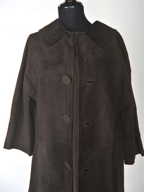 Dress Coat Brown loewe vintage brown suede dress coat catawiki