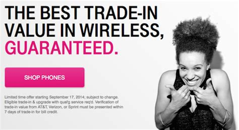 mobile trade in t mobile guarantees the best trade in value for your