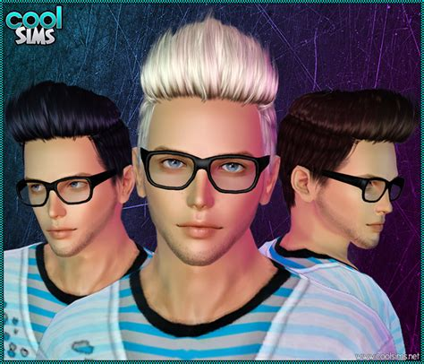 sims 3 men custom content my sims 3 blog coolsims hair 104 for males