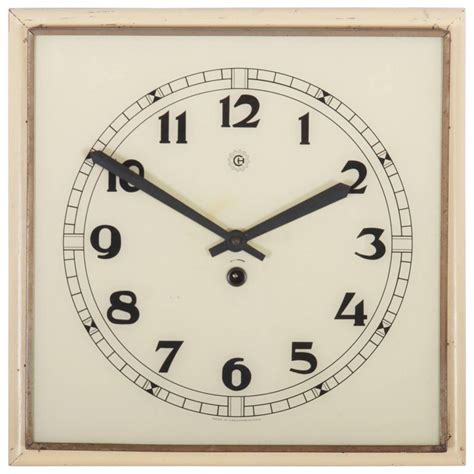 art deco wall clock roselawnlutheran art deco wall clock for sale at 1stdibs