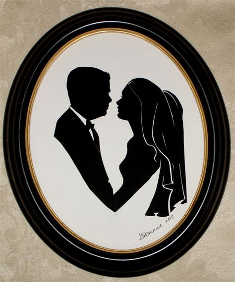 Wedding Silhouette by Silhouettes At Weddings Portraiture Artful