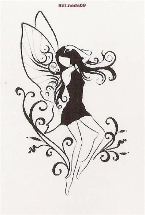 hadas imagenes de hadas dibujos y fotos de hadas dibujos de hadas en blanco y negro imagui