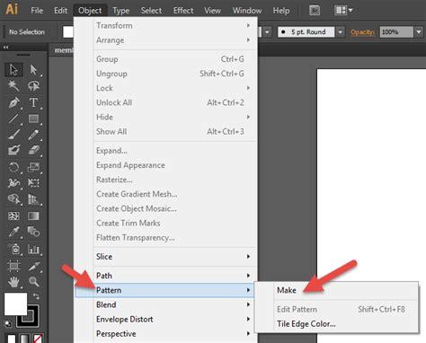 pattern maker adalah membuat pattern di illustrator