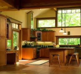 Craftsman Style Home Interior Sunset Solar Bronze Anderson Window Film