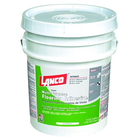 lanco 5 gal multipurpose flooring adhesive ka542 2 the