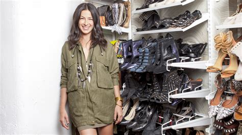 Rebeccas Closet by See Minkoff S Closet In N Y C Home Instyle