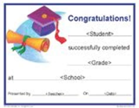 5th grade graduation certificate template end of year resources on summer reading lists