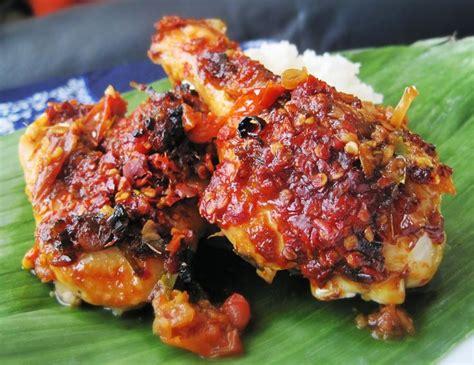 Bumbu Ikan Bakar Unie Que Masakan Padang balinese chicken ayam bumbu bali food