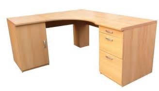 Corner Office Desk New Marino Large Corner Office Desk Computer Workstation Office Furniture Beech Ebay