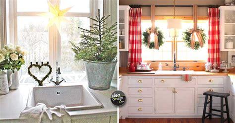 cucina con natale una decorazione natalizia in cucina ecco 20 idee per
