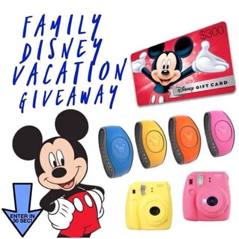 Disney Vacation Giveaways - giveaway win everything you need for a disney vacation mystylespot