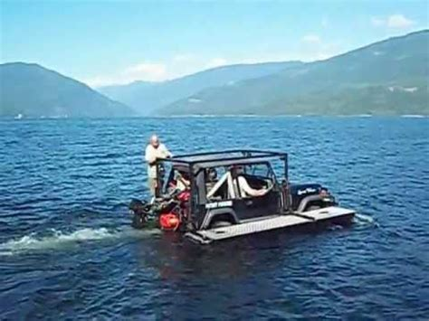 jeep boat a jeep boat er boat jeep you decide youtube