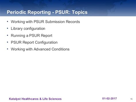 Periodic Safety Update Report Template Argus Aggregrate Reporting Katalyst Hls