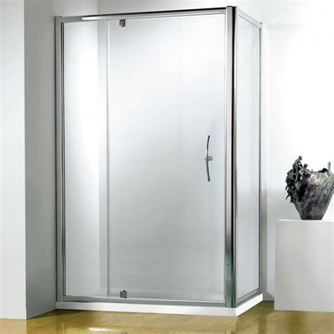 Wide Shower Doors by Kudos Original Pivot Wide Shower Door 6mm Glass