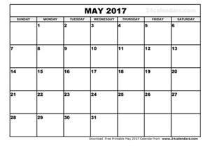 may 2017 calendar pdf weekly calendar template