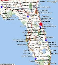 map of east florida raised in the south alphabe thursday quot d quot is for daytona