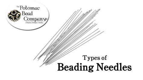 beading needle size chart types of beading needles