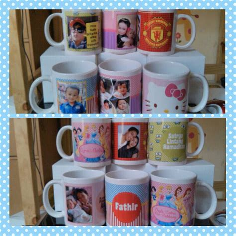 Dos Kado Polos Dos Mug Foto jual mug custom mug desain sendiri toko kudet