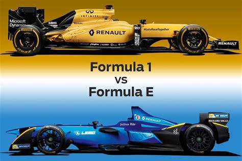 formula 3 vs formula 1 formula 1 vs formula e