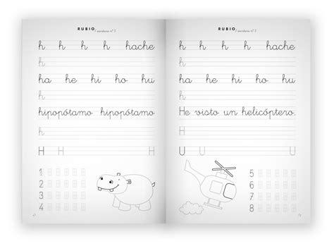 libro cuaderno de escritura 3 escritura 3 ejercicios preescritura ni 241 os de 5 a 7 a 241 os cuadernos rubio cuadernos rubio