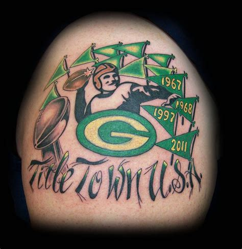 green bay packer tattoos 49 best tony s portfolio images on