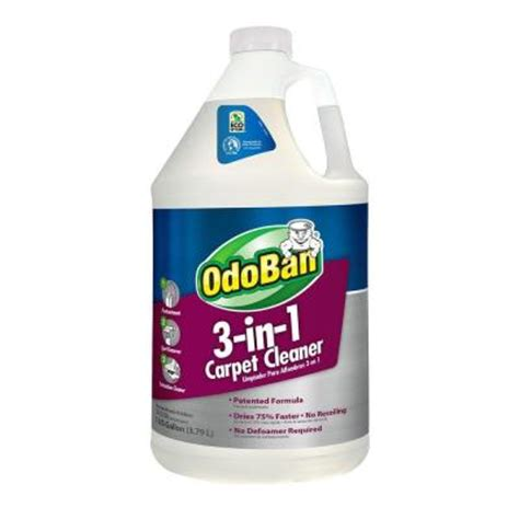 odoban 128 oz 3 in 1 carpet cleaner 960261 g the home depot
