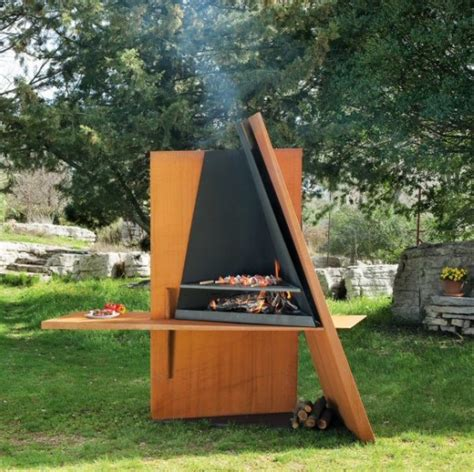 if it s hip it s here archives more smokin modern outdoor grills bbqs