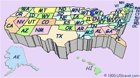 interactive travel map of the us america travel notes us travel guides united