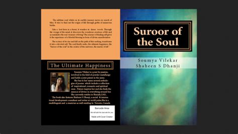 stories for the soul an anthology books shaheen sultan dhanji contributor of anthology suroor of