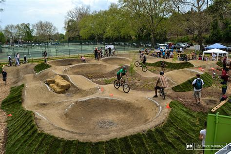 backyard bmx track design pump track in bellingham the hub