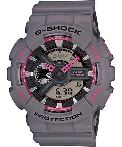 Baby G Ga 110 Pink casio g shock wrist watches g shock digi gray pink