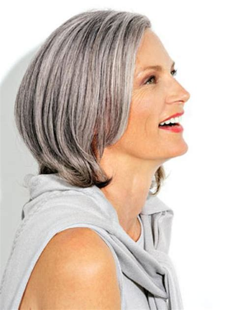 how to color mousey salt and pepper greyhair lowlights to salt and pepper hair