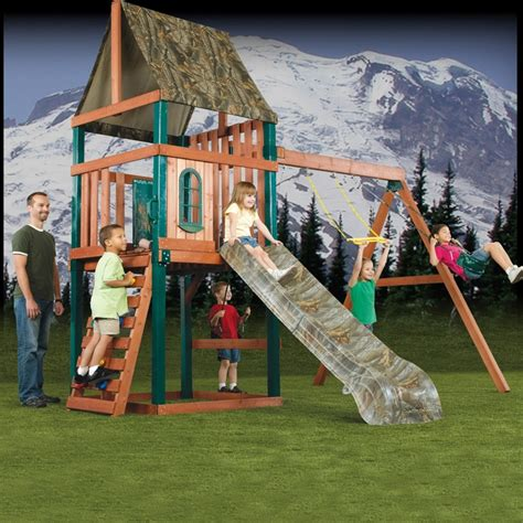 swing n play swing n slide offers a line of play sets featuring